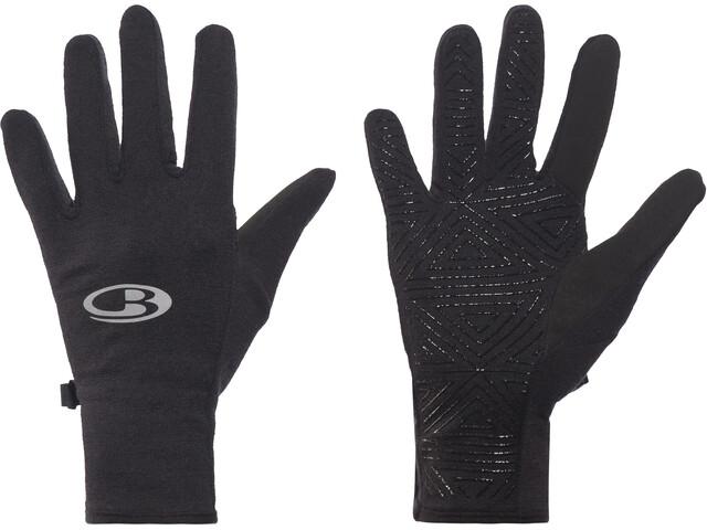 fcbdd831b3 Icebreaker Quantum Gloves Black - addnature.com